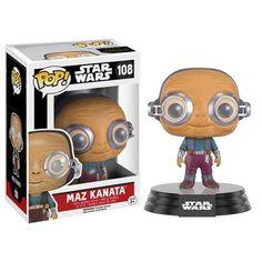 Funko Star Wars Force Awakens POP Maz Kanata Bobble Head Vinyl Figure - Radar Toys