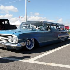 1959 Chevy biscayne wagon!! Drool