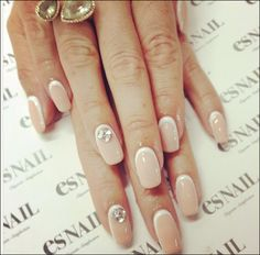 simple and elegant nails