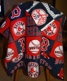 Custom Rival Teams Baseball Baby Blanket by Brosia3Designs on Etsy, $38.00