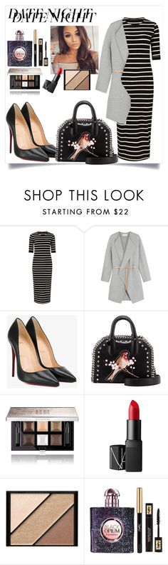 """Untitled #587"" by neflaluna on Polyvore featuring Sugarhill Boutique, Vanessa Bruno, Christian Louboutin, STELLA McCARTNEY, Givenchy, NARS Cosmetics, Elizabeth Arden, Yves Saint Laurent and DateNight"