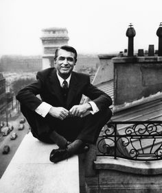 Cary Grant. I adore him in everything but be sure to see his wacky side in Arsenic and Old Lace.