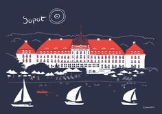 Original illustration by Gliniana Kura features the Sopot beach. size ( 21 x cm) High quality digital print on mat paper 250 g Packed flat. Mat Paper, A4 Poster, Grand Hotel, Digital Prints, The Originals, Beach, Illustration, Movie Posters, Etsy
