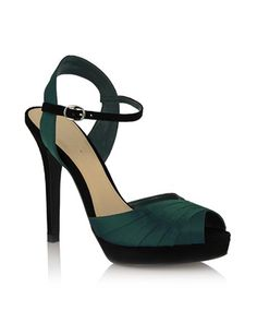 Tresmode Kolpeep Heels – Buy Green Color Tresmode Kolpeep Heels ...