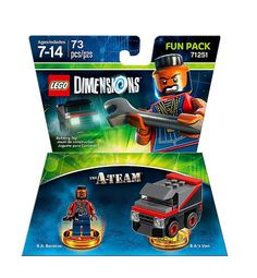 #LEGO Dimensions The #ATeam Fun Pack (71251) - http://www.thebrickfan.com/lego-dimensions-series-2-expansion-packs-revealed/