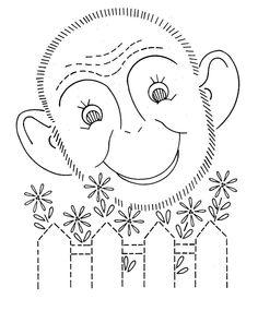 Hand Embroidery Quilt PATTERN Design 797 Animals by BlondiesSpot