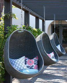 Outdoor chairs by Creative Living Interior & Exterior decor