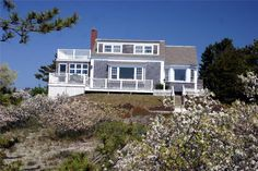 GREAT SPOT FOR BEACH LOVERS! Nice waterviews from first and second floor decks and just 200 yards to the water. Beach is just south of Lighthouse Beach. Fun beach cottage with deeded path directly across the street. http://www.vacationcapecod.com/chatham/vacation-rentals/cgoen/302 #ChathamVacationRental #Chatham #CapeCodVacation
