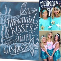 Add a whimsical MERMAID or nautical UNDER THE SEA quote to your sorority crafts, recruitment decor, bid day tee shirts, big/little reveal, or chapter socials. Customize your favorite quote with your sorority name, Greek letters, or big/little names for extra sorority sparkle. Life is better