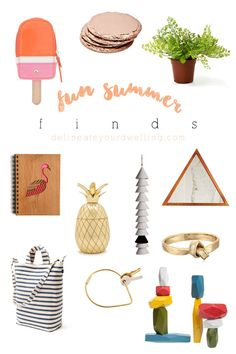 Fun Summer Finds under $50!! Delineate Your Dwelling