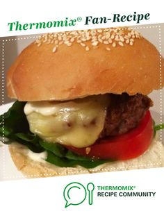 Hamburger Recipes, Meat Recipes, Kitchen Machine, Mince Meat, Beef Burgers, Recipe Community, Food N, Main Meals, Main Dishes