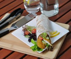 Spicy Barbeque Fish Wraps - something different for a summer meal. From Knife, Fork and Band www.knifeforkandband.com.au and   Bariatric Nutrition Essentials www.bariatricnutritionessentials.com