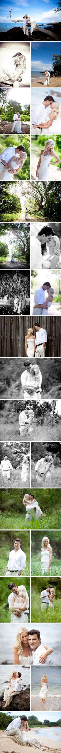 Maui Honeymoon Photography- honeymoon shoot is a must-have! Maui Honeymoon, Honeymoon Photography, George Strait, I Got Married, Pretty Pictures, Vacation Ideas, Wedding Pictures, Summer Beach, Wedding Stuff