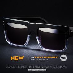 168 Black Transparent by Wilde 2018