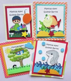 Tarjetas para regalos/presentación Facebook Crafts by Iris  @craftsbyiris