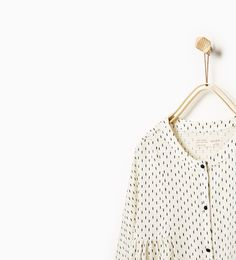 ZARA - KIDS - Polka dot blouse