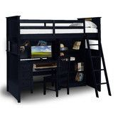 Found it at Wayfair - Twin Loft Bed with Desk and Hutch