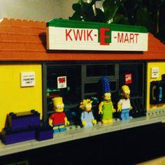 #Simpson #lego #kwikEmart #apu