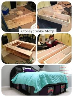 Diy Headboard Attached To Bed Frame Woodworking Projects