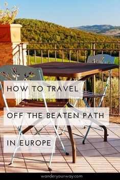 Are you looking to travel to Europe but want to get a bit off the beaten path? Maybe find some places that are a little less touristed? I've got some great tips to help you do just this. Click through to find out more.