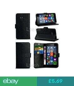 Cases & Covers Htc U Play / Htc Alpine - Carbon Fibre Style Card Slot Wallet Case Cover #ebay #Electronics