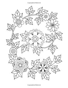 Amazon.com: Happy Coloring: Easy Flowers - Coloring Book for Adults (9781518817557): Happy Coloring, Stefania Miro: Books
