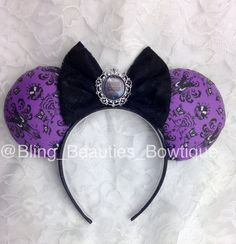 Hey, I found this really awesome Etsy listing at https://www.etsy.com/listing/213023453/disney-inspired-haunted-mansion-ears