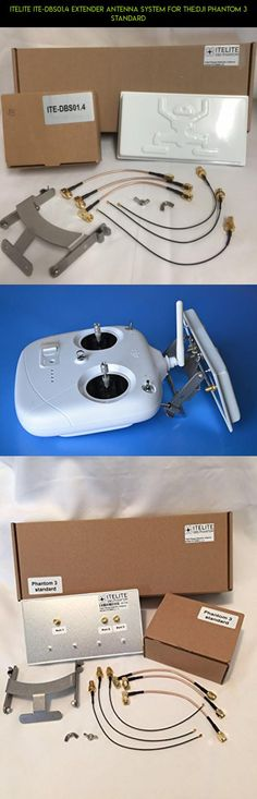 ITELITE ITE-DBS01.4 EXTENDER ANTENNA SYSTEM FOR THE:DJI PHANTOM 3 STANDARD #gadgets #phantom #products #dji #plans #tech #3 #camera #drone #parts #fpv #racing #shopping #kit #technology #extender #standard