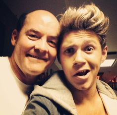 Niall with David Koechner!