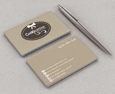 Cartão de Visitas para Chokolateria - Cantinho do blog Layouts e Templates para Blogger