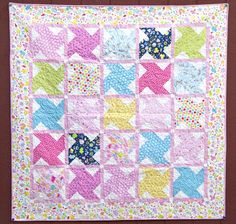 Free Quilt Patter featuring Wildflower Meadow by Melly and Me for Riley Blake Designs  #freequiltpattern #wildflowermeadow #rileyblakedesigns #mellyandme