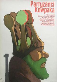 Poster Plakat Jerzy Flisak partyzanci Kowpaka