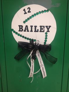 Cute Volleyball Locker Decoration                                                                                                                                                     More