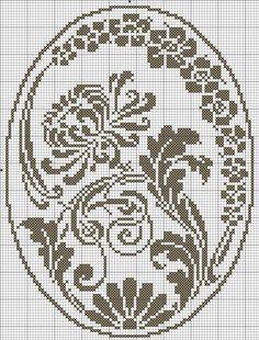 Crochet And Arts: Filet Crochet Wipes - maallure Filet Crochet Charts, Crochet Doily Patterns, Crochet Cross, Weaving Patterns, Cross Stitch Charts, Crochet Motif, Cross Stitch Designs, Cross Stitch Patterns, Crochet Flower