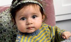 Strik for en god sag: Uldtrøje til baby Baby Knitting Patterns, Alter, Rompers, Mest Populære, Face, Tejidos, Creative, Romper Suit, The Face