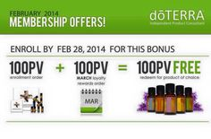 dōTerra Essential Oils Promo returns till Feb 28th. Contact for Free Diffuser & Modern Essential Oils App for this promotion @ www.maryhart.myoilproducts.com