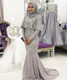 Hijab Prom Dress, Dress Brukat, Hijab Gown, Hijab Evening Dress, Kebaya Dress, Kebaya Hijab, Muslim Wedding Dresses, Muslim Dress, Bridesmaid Dresses