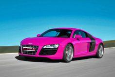 Pink Audi R8 #loveit!