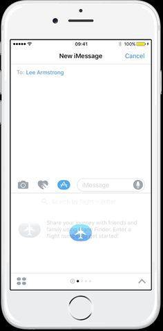 Plane Finder for iMessage  Share your real-time flight status with iMessage