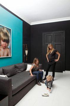 mieszkanie w Paryżu, wnętrza Paryża,Sarah Levoine