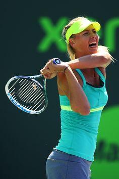 Maria Sharapova @ Sony Open Tennis 2013: Quarterfinal on March 27, 2013
