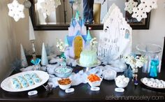 Frozen birthday party ideas -