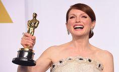 Julianne Moore takes best actress Oscar for 'Still Alice'