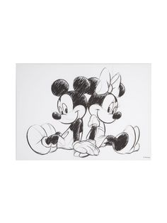 Buy your Disney Frozen Retro Mickey & Minnie Sketch Canvas online now at House of Fraser. Why not Buy and Collect in-store?