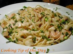 Cooking Tip of the Day: Spicy Cajun Seafood Pasta