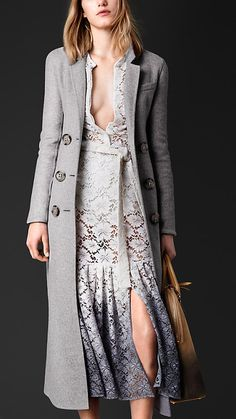 Double Cashmere Topcoat | Burberry. OMG this is so beautiful need to do a alot of saving to get this one