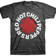 Red Hot Chili Peppers Tee Shirt Fan Gear Shirt by HardKnockApparel