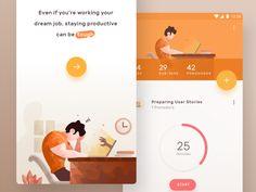 Pomodoro App Exploration by Ghani Pradita
