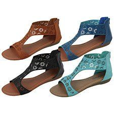 Purchase Crazy Daisies Open Toe Ankle Strap Sandals from Fashion Vista on OpenSky. Share and compare all Sandals & Flip Flops in . Ankle Strap Sandals, Black Sandals, Shoes Sandals, Women Sandals, Leather Sandals, Style Boho, My Style, Cute Shoes, Me Too Shoes