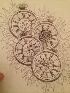 Pocket watches sketch